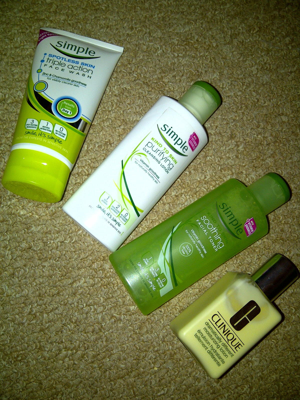 Beauty: Night time skin care routine