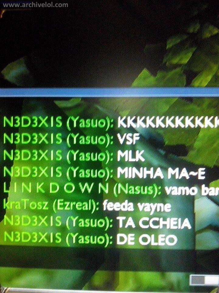 LOL PEROLAS DO CHAT, MÃE DO CARA CHEIA DE OLEO