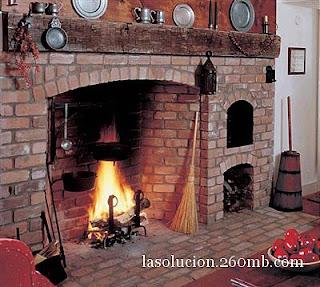 Construcci n de chimeneas inglesas - Como hacer una chimenea de obra ...