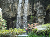 Waterfall in HK Park