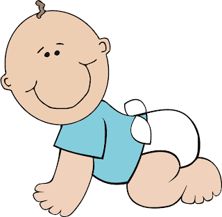 baby boy cartoon clipart
