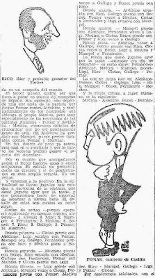 Recorte de El Mundo Deportivo sobre el II Torneo Internacional de Ajedrez Gijón 1945, 20 de julio de 1945 (2)