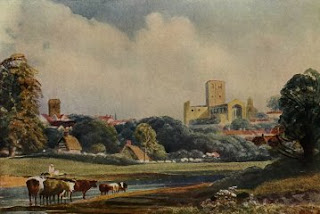 Water Color Painting-St. Albans