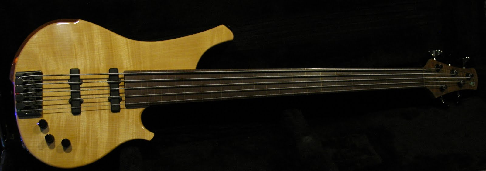 Grady's Bass / Five string fretless