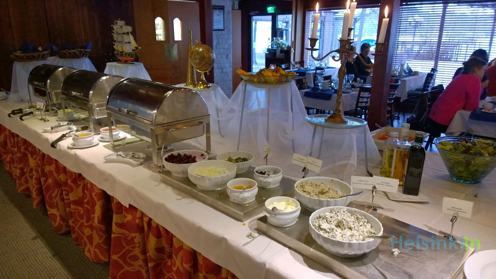 brunch buffet at Mestaritalli