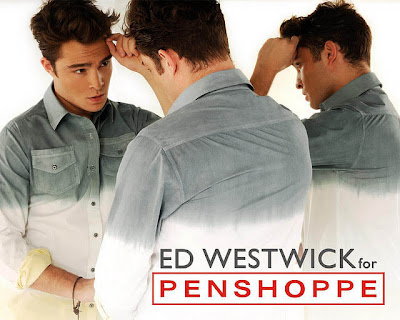 Summer Fashions  on Fashion And Style  Super Hunk Ed Westwick For Penshoppe   S Pre Summer