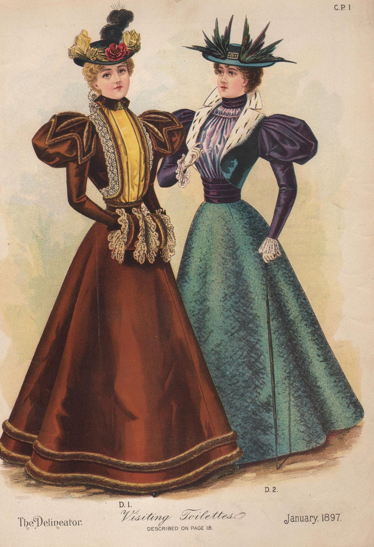 Etiquipedia: Etiquette Regarding Victorian and Edwardian Toilettes ...