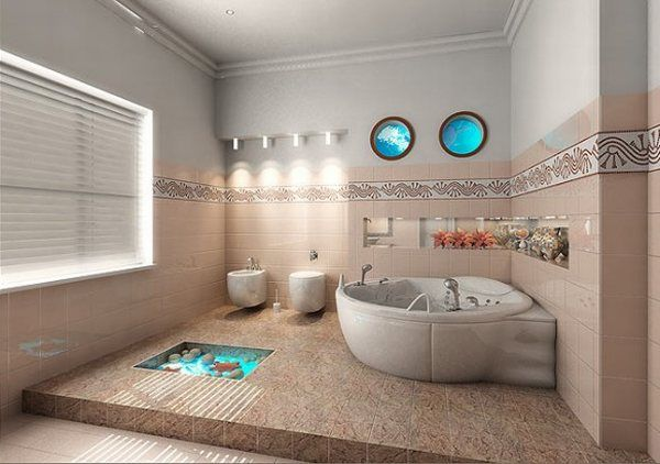 Enhance The Marine Look In The Interior Design Of Your Living Room Kitchen And Bathroom
