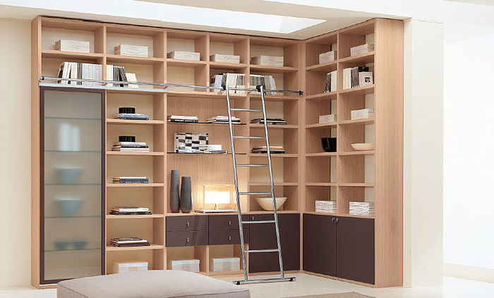 Muebles Bibliotecas Modernas - Diseños Arquitectónicos - Mimasku.com