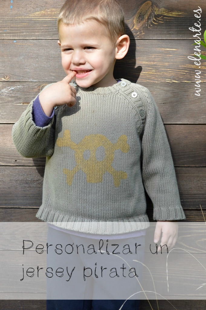 Personalizar un jersey pirata