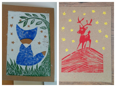 Miss Chaela Boo: Lino Printing at Betty Makes