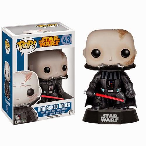 Funko Pop! Star Wars Darth Vader Unmasked