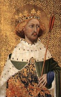 St Edmund, King and Martyr