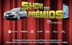 """Promoção """"Show de Prêmios Grupo Technos"""""""