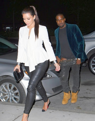 Kardashian Thong on Is That A Black Thong Kanye Is Wearing Lol These Two Will Not Kill Me