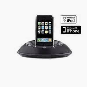 Speaker Portabel iPhone JBL On Stage IIIP, ini adalah sistem portabel terbaik karena bisa di gunakan untuk iPhone dan iPod.