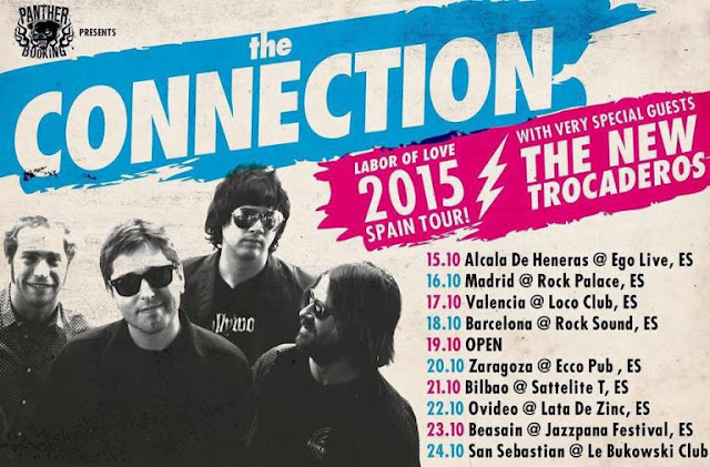 THE CONNECTION + THE NEW TROCADEROS - Spain Tour 2015