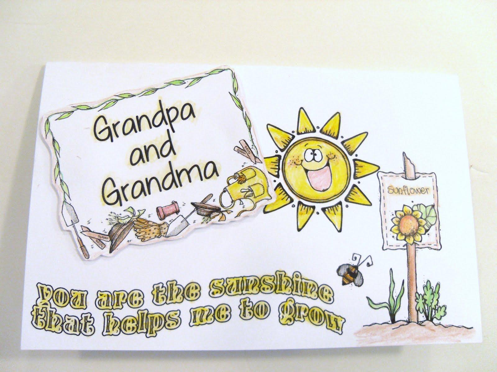 hollyshome family life grandparent s day card