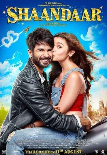 Shaandaar 2015 Hindi Bluray Download