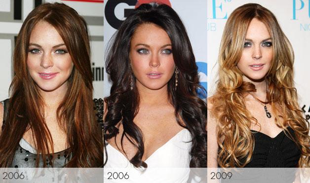 lindsay lohan hair 2011