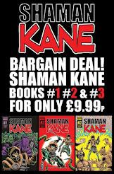 SHAMAN KANE BOOKS #1,2 &  3