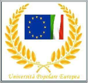Benvenuto nella pagina web ufficiale dell'Università Popolare Europea