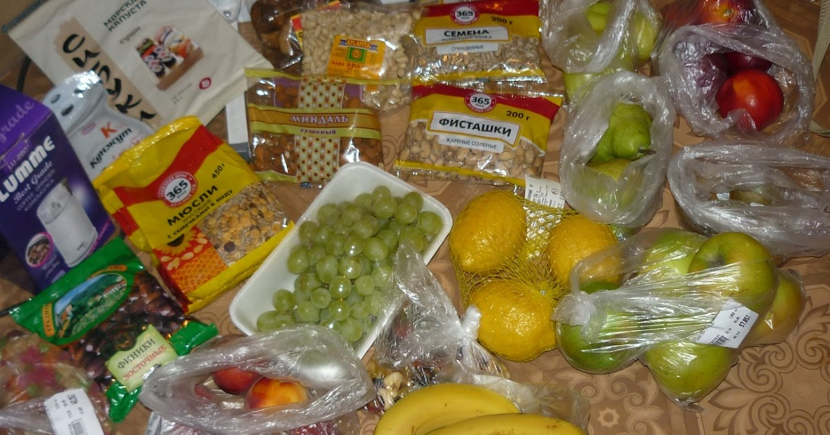 рацион питания 1200 калорий меню на каждый