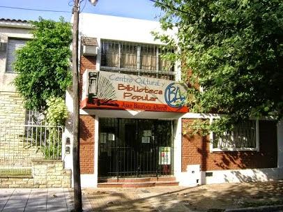 "Actividades de la Biblioteca Popular ""Juan B. Alberdi"""