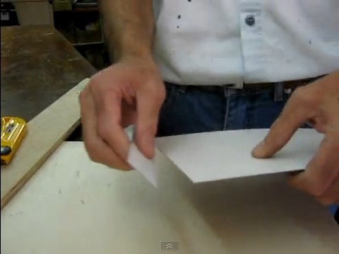 V deo c mo usar cuchilla de cortar formica web del bricolaje dise o diy - Como pintar sobre formica ...