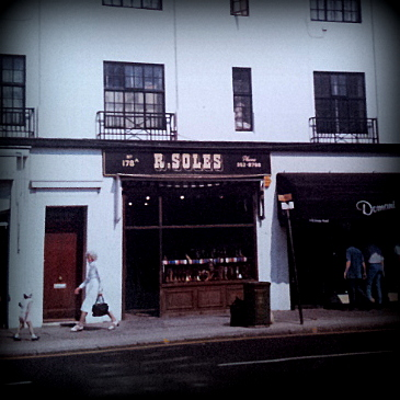 R. Soles, Kings Road, Chelsea, London