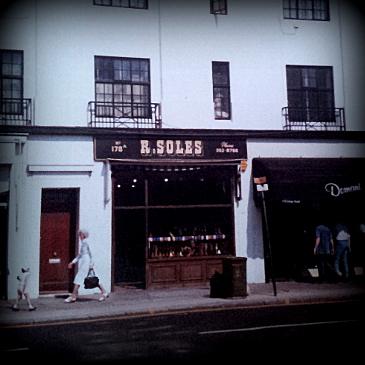 R. Soles, Kings Road, Chelsea, London