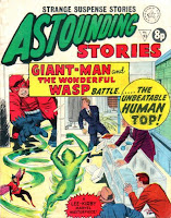 Alan Class, Astounding Stories, Giant Man, Wasp, Human Top