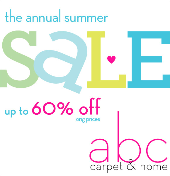 Madison avenue spy june 2012 for Abc carpet outlet sale
