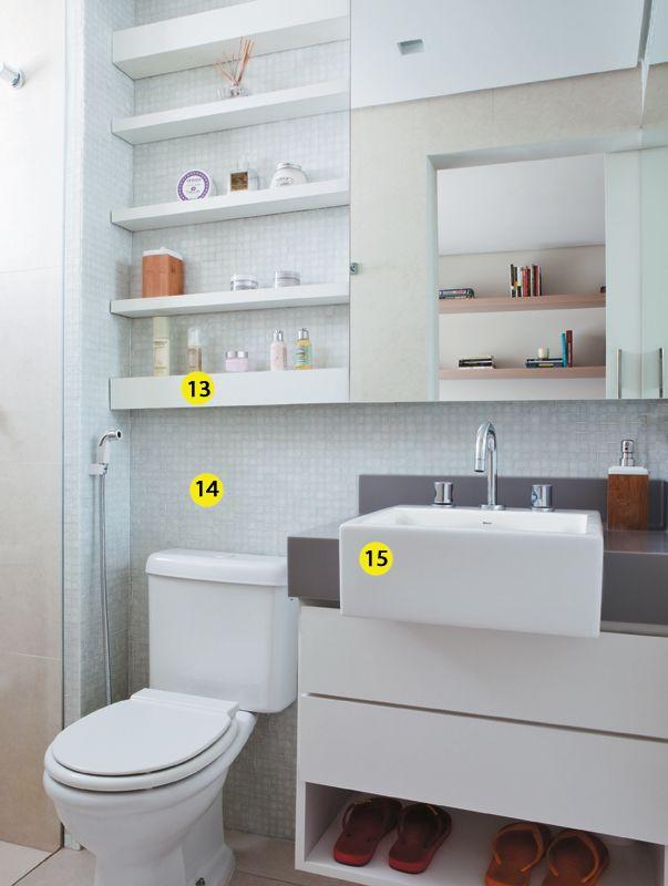 Decoração Wc ~ Blog da mam u00e3 Lu 25 Ideias de Decoraç u00e3o do WC com prateleiras