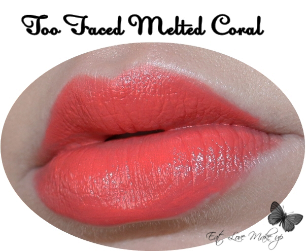 Too Faced Melted Liquified Long Wear Lipstick - Melted Coral