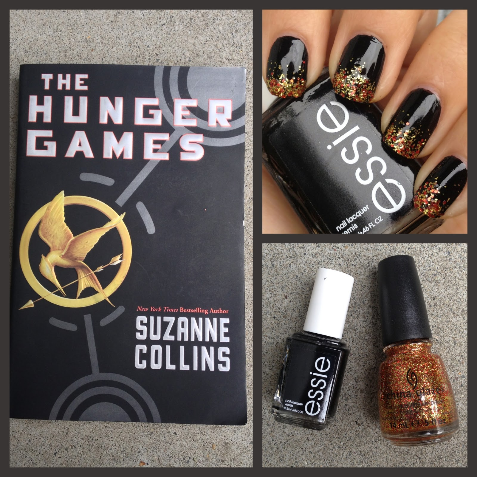 What i blog about when i blog about books notd girl on fire what i blog about when i blog about books notd girl on fire nails the hunger games inspired prinsesfo Gallery