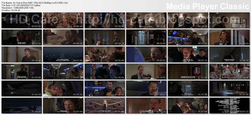 Air Force One 1997 video thumbnails