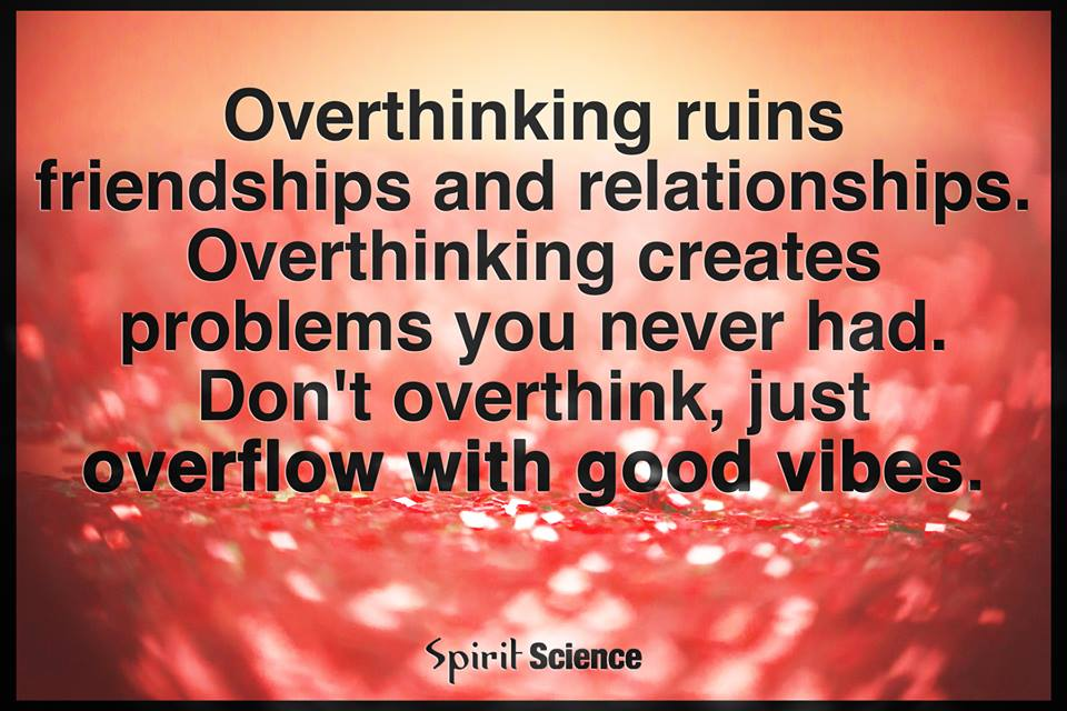 overthinking relationship quotes