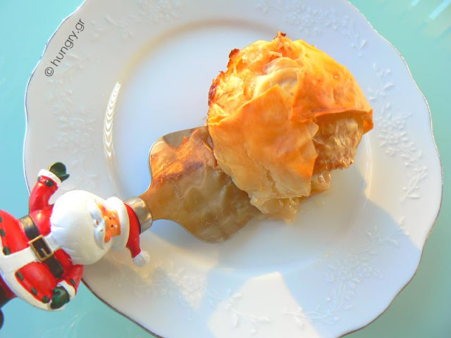 Baked Apples in Phyllo Pastry