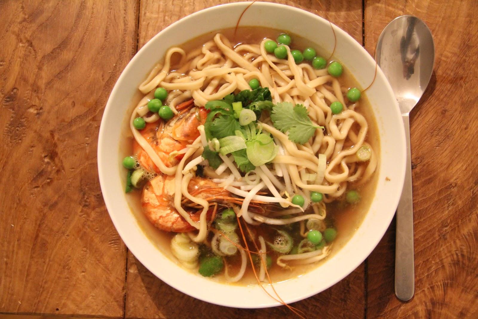 asiatische garnelen suppe last kitchen hero. Black Bedroom Furniture Sets. Home Design Ideas