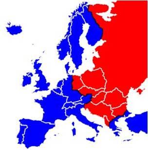 cortina de ferro na URSS