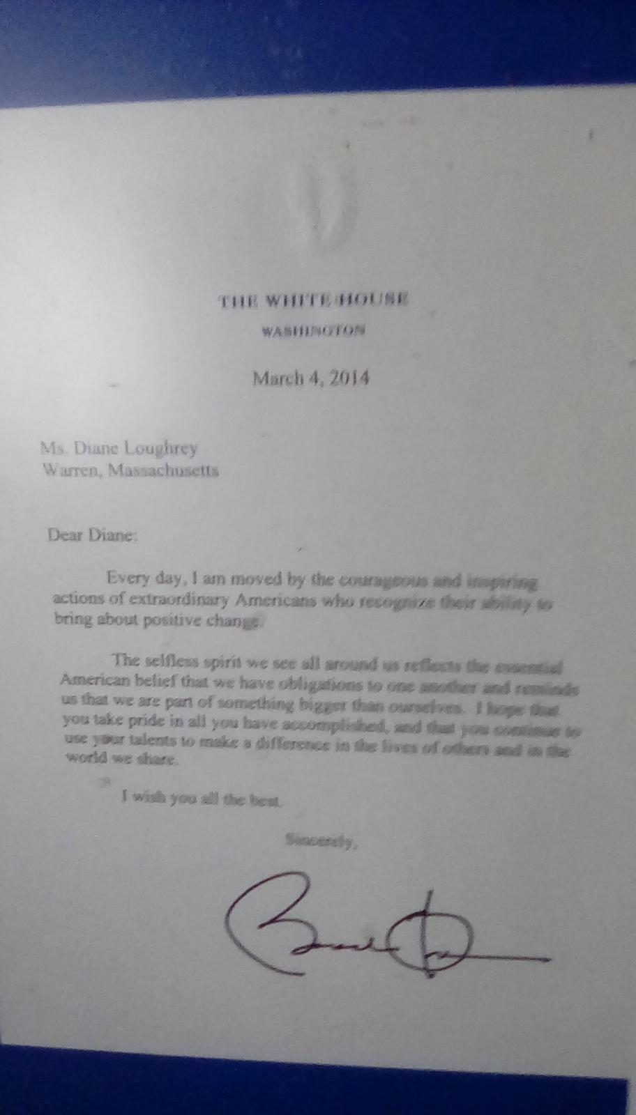 Presidential Honor