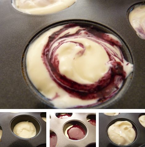 Gluten Free Mini Blueberry Cheesecakes
