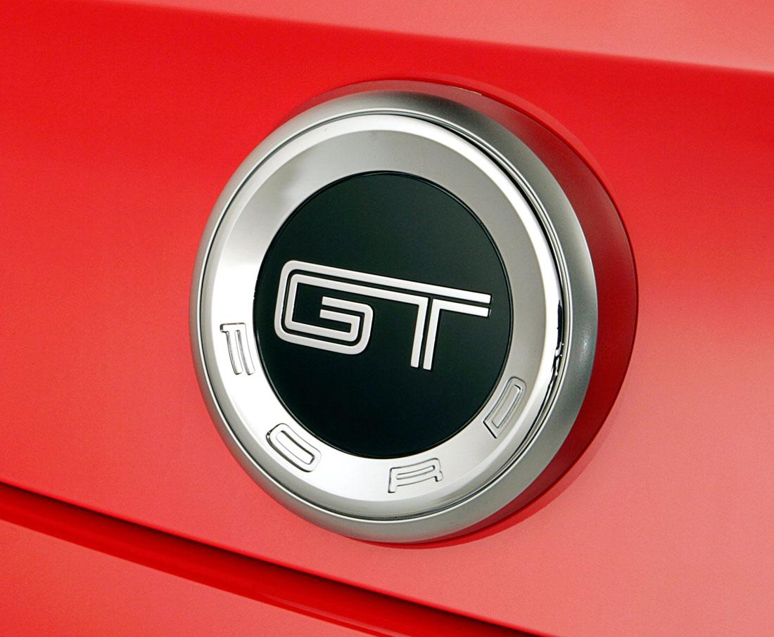 Ford Mustang Gt Logo