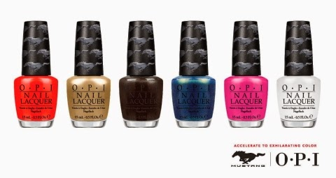 OPI Reveals Ford Mustang Nail Lacquer Collection