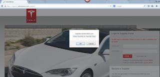 TeslaMotor Cross Site Scripting Vulnerability