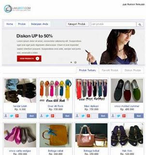 Social Commerce Store dari LakuBGT.com