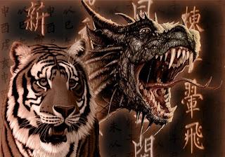 dragon de la simbologia china,  simbolo  de poder y  inteligencia
