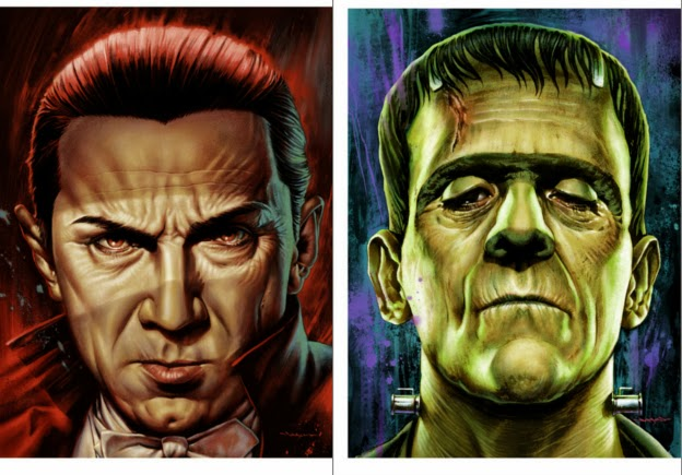 Universal Monsters Series by Jason Edmiston & Mondo - Undead Monday