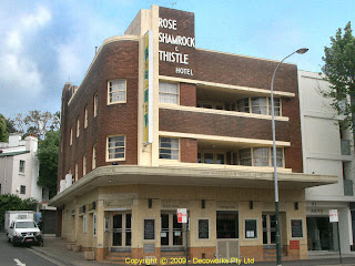 The Rose Shamrock and Thistle hotel